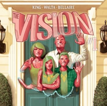 DC Editor Jamie Rich Sent Tom Kings Wife a Vision TPB Because Marvel Wouldnt