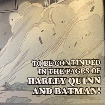 "Is This Where That ""Harley Quinn And Batman"" Series Rumour Came From?"