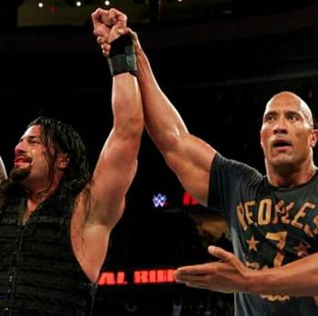 The Rock Is On Location At Monday Night Raw Tonight&#8230 Filming Scenes For Paige Biopic Fighting With My Family