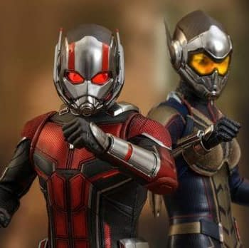 Ant-Man and The Wasp Hot Toys Figures Revealed Coming 2019