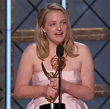 The Handmaids Tales Elisabeth Moss Picks Up Emmy Drops Off F-Bombs