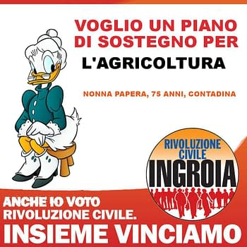 An Italian Revolution Supported By… Superman, Wolverine And Peppa Pig?
