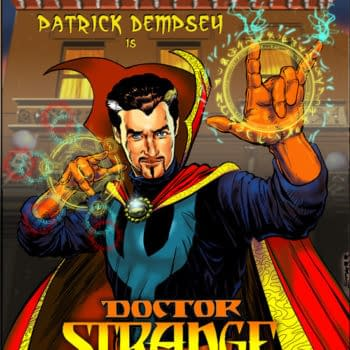 Disney Shows Off Dr. Strange For Their Marvel Day At Sea