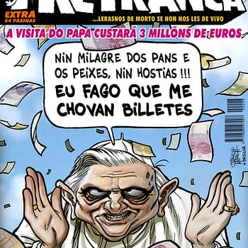 Pope Visit Sees Comic Magazine Kidnapped By Printers