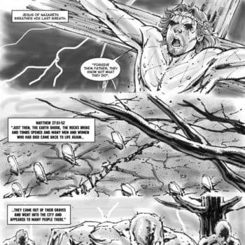 Rob Liefeld's Zombie Jesus Debuts