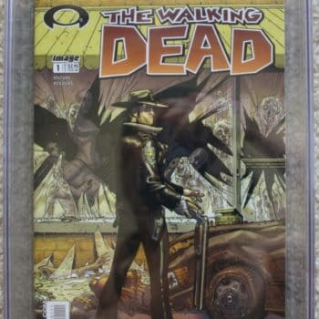 The Walking Dead #1 Sells For $1825