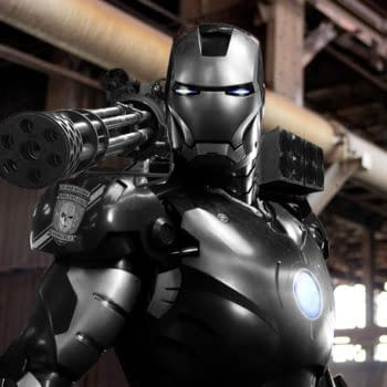 First Look At War Machine From Avengers: Age Of Ultron