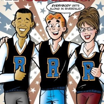 Preview: Archie Comics #617 – Obama Vs Palin Round Two
