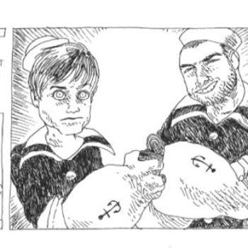 Popeye Mandatory In Angoulême 24 Hour Comic Challenge