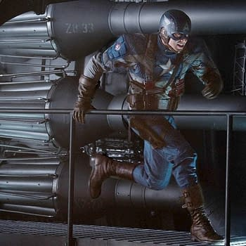 Captain America Thor Suit Up For Superbowl
