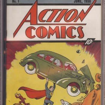 SCOOP: Charlie Sheen's Copy Of Action Comics #1 Is A Winner