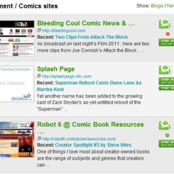 Bleeding Cool Is The Most Influential Comics Blog In The World