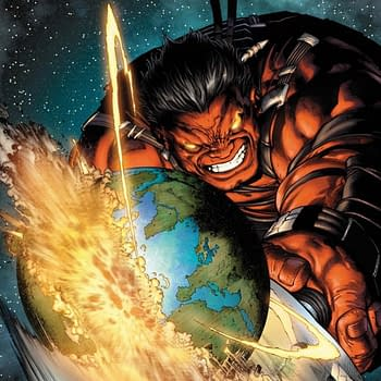 Forget The Rest Of The World What Did The Red Hulk Do To The British Isles