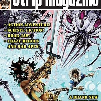 The Cover To Strip Magazine Issue Zero