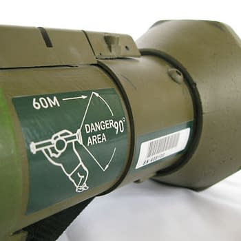 Chris Morris Rocket Launcher From Four Lions On eBay
