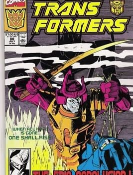 Would IDW Restart Transformers From Marvel Continuity