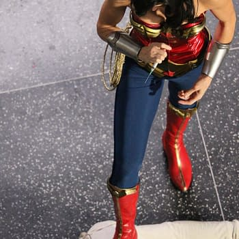 Exclusive Wonder Woman Shots &#8211 Injecting A Bad Guy