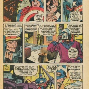 Captain America Versus The Status Quo