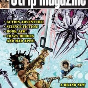 Strip Magazine Zero Gets Hit By French Strikers, Available Free Right Here