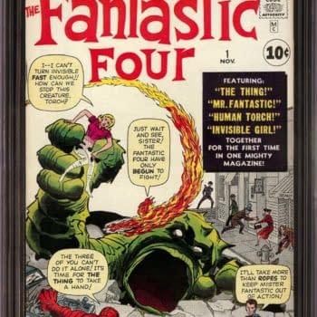 Metropolis Sells A Fantastic Four #1 CGC 9.4 for $300,000