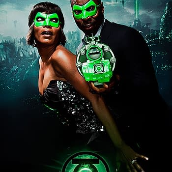 Hollywood At The Green Lantern After Party (Angela Bassett Courtney Vance And Clark Duke Update)