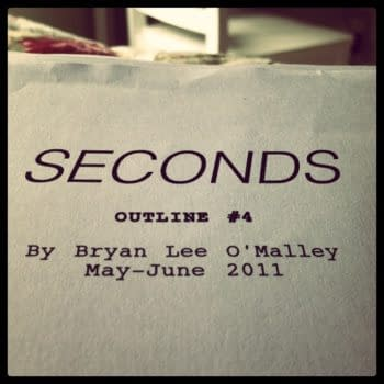 Seconds – Something New From Bryan Lee O'Malley