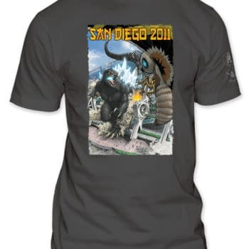 San Diego Comic Con Exclusive T-Shirts – And Where They Came From