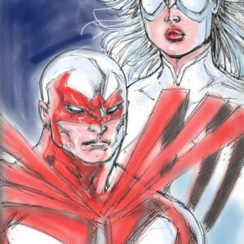 New Art From Rob Liefeld's Hawk And Dove