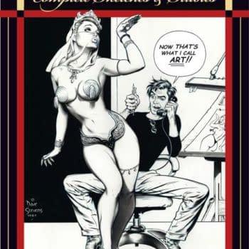 San Diego Comic Con Exclusive – Dave Stevens: Complete Sketches & Studies