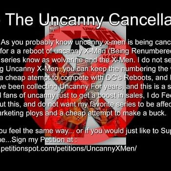 Will You Sign The Petition Against The Uncanny X-Relaunch If So Why