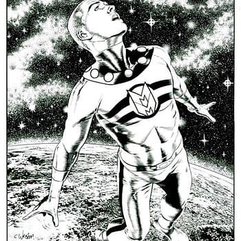 And Finally… Chris Weston Draws Marvelman