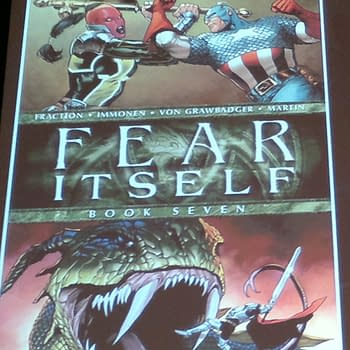 Live From The Fear Itself Panel At San Diego Comic Con