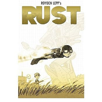 San Diego Debut: Rust: Visitor In The Field by Royden Lepp