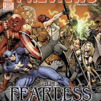 """Marvel To Announce """"The Fearless"""" With Matt Fraction And Mark Bagley At San Diego Comic Con"""