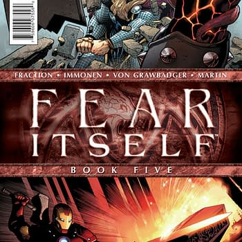 Preview: Fear Itself #5 &#8211 The One Where Everyone Just Hits Each Other With Hammers
