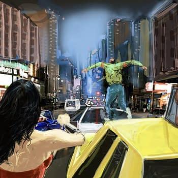 Wonder Woman TV Pilot Storyboards by Cesar Lemus