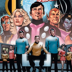 IDW To Publish Star Trek/Legion Of Superheroes Crossover