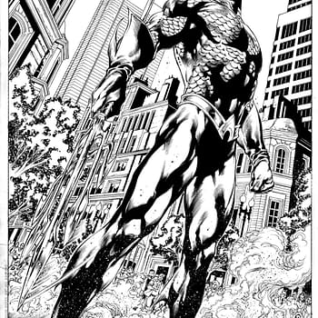Check Out A Gorgeous Page Of Original Art From Geoff Johns And Ivan Reis Aquaman #1