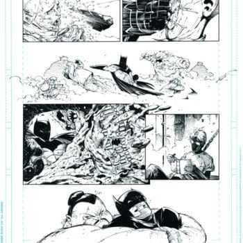 Page Five And Eight From Batman #1