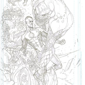 Page Fourteen In Pencils And Inks From Green Lantern #1