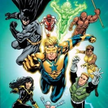 Identifying The Mystery Woman On The Original Cover Of JLI #1