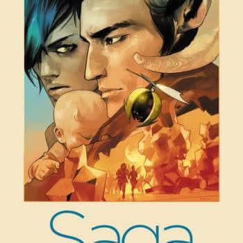 Brian K Vaughan And Fiona Staples' Saga From Image Comics