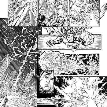 Two New Pages From Superman #1