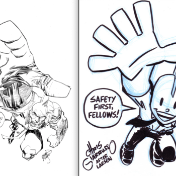 The War Of The Savage Dragon Sketches