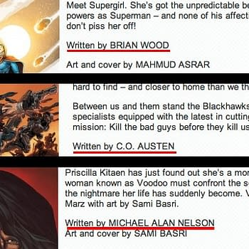 Saturday Runaround &#8211 DC Comics Suffers Wardrobe Malfunction
