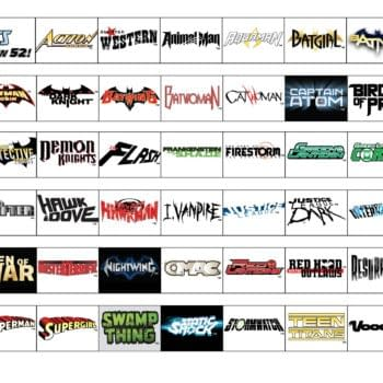 Why Not Play Bingo With All The DC New 52 Logos?
