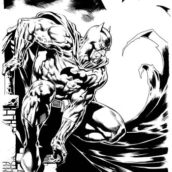 Four Years Later Kevin Nowlan Inks David Finch On Batman