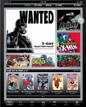 A Rebuilt ComiXology 3.0 Launches. Go See