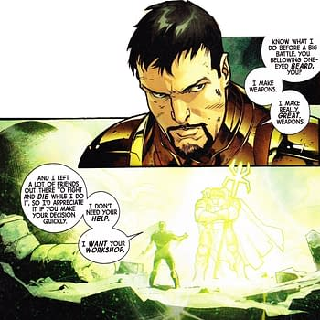 Staying In Character In Fear Itself #5 For Iron Man Thor Captain America And Spider-Man