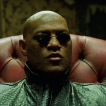 Laurence Fishburne Is Perry White In Man Of Steel